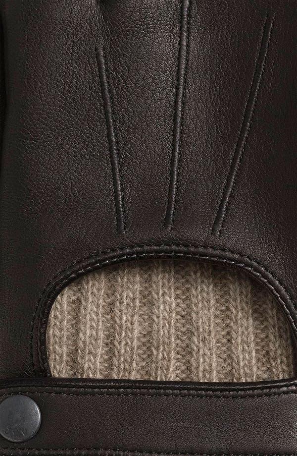 Alternate Image 2  - John Varvatos Star USA Fingerless Driving Gloves