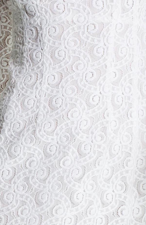 Alternate Image 3  - Nanette Lepore 'Lithograph' Lace Shift Dress