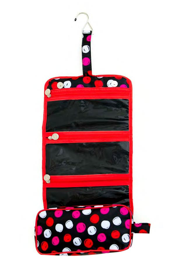 Main Image - Tricoastal Design 'Dot' Hanging Beauty Organizer