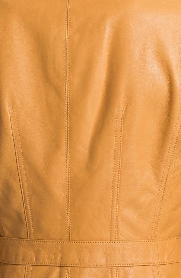Alternate Image 3  - Tory Burch 'Beacon' Leather Moto Jacket