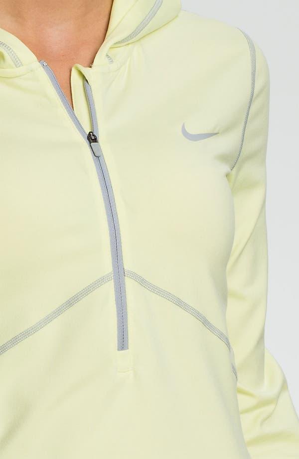 Alternate Image 3  - Nike Half Zip Hoodie