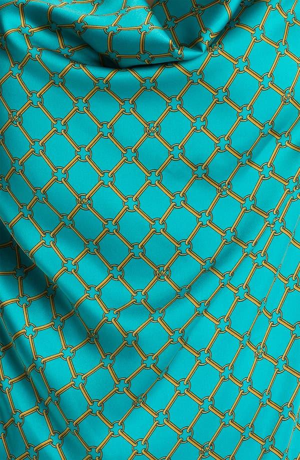 Alternate Image 3  - MICHAEL Michael Kors Chain Print Cowl Neck Top (Plus)