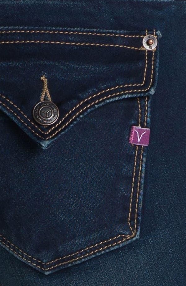 Alternate Image 3  - Vigoss Flap Pocket Skinny Stretch Jeans (Juniors)