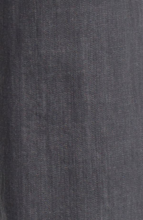 Alternate Image 4  - John Varvatos Star USA 'Bowery' Slim Straight Leg Jeans (Steel Grey)