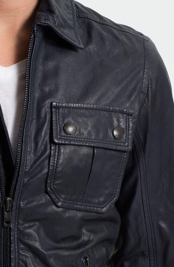 Alternate Image 3  - DIESEL® 'Lordid' Leather Jacket