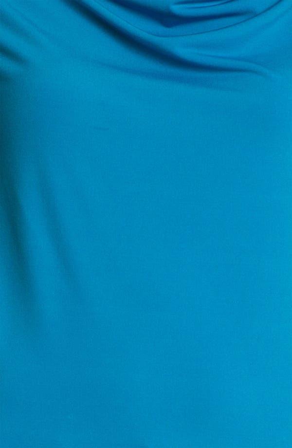 Alternate Image 3  - Anne Klein Drape Neck Top (Petite)
