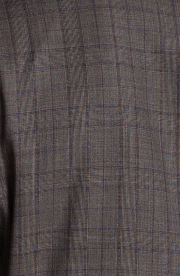 Alternate Image 5  - BOSS Selection 'Howard/Court' Trim Fit Plaid Suit