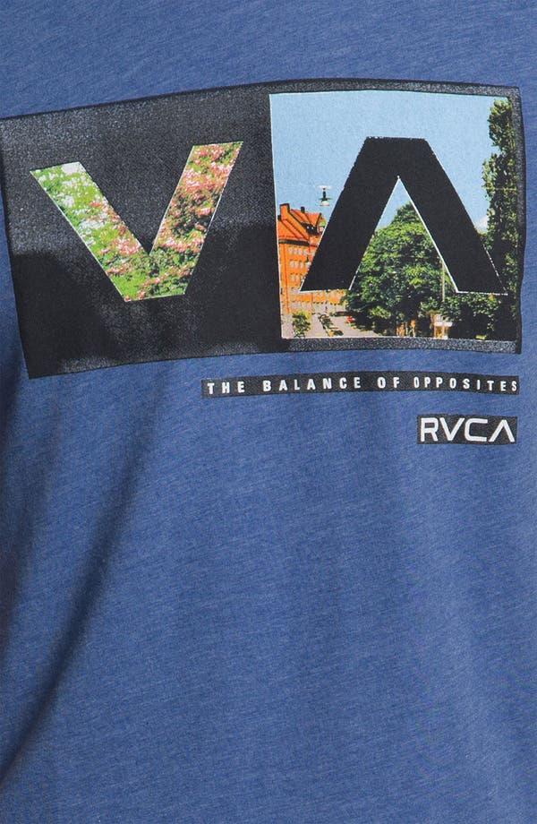Alternate Image 3  - RVCA 'Cut Copy' T-Shirt