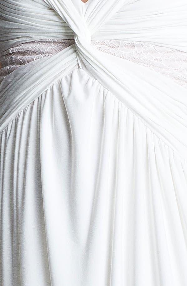 Alternate Image 3  - Max & Cleo Front Twist Jersey Dress