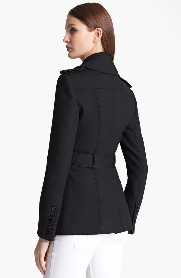 Alternate Image 2  - Burberry London Blanket Wrap Military Jacket