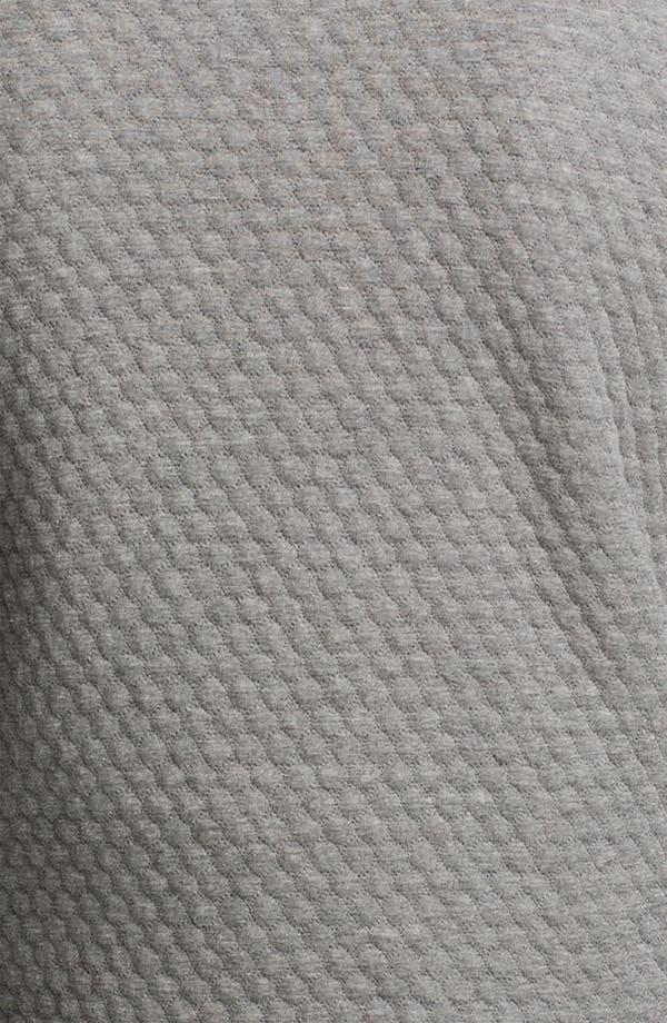 Alternate Image 3  - Topman Quilted Crewneck Sweatshirt