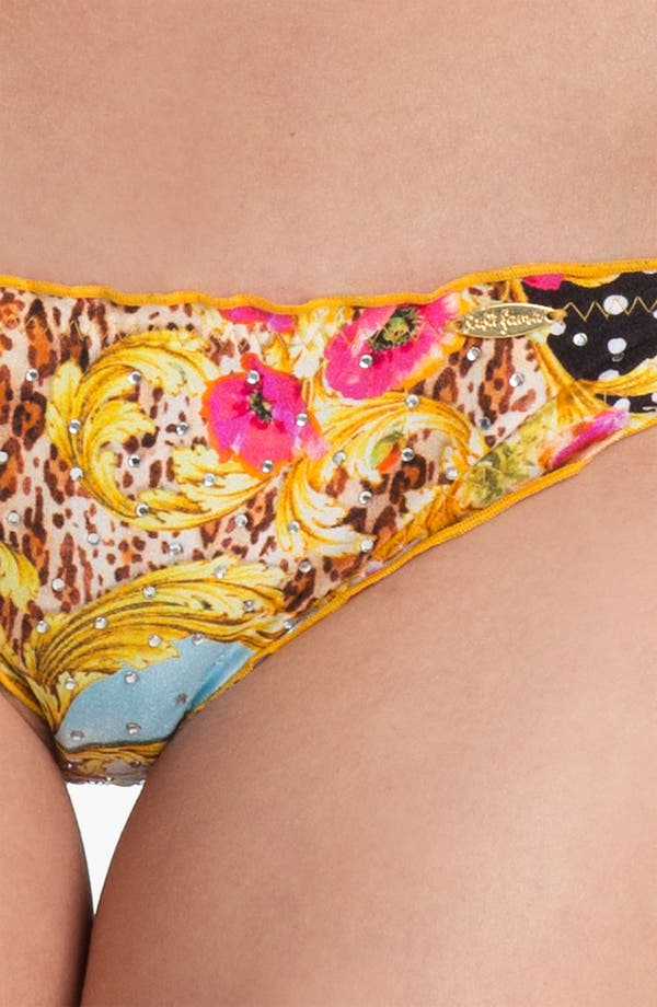 Alternate Image 3  - Luli Fama 'Sexy 60' Embellished Bikini Bottoms