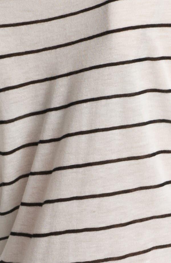 Alternate Image 3  - Vince Stripe Boatneck Sweater