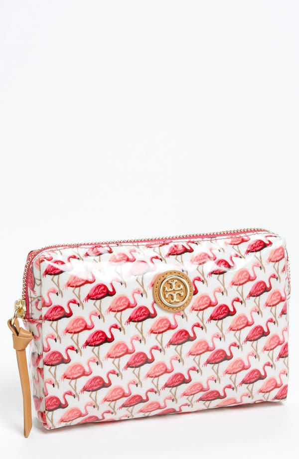 Main Image - Tory Burch 'Slim Brigitte' Cosmetics Case