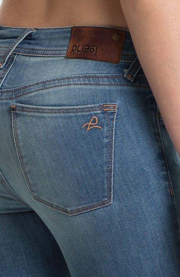 Alternate Image 3  - DL1961 'Amanda' X-Fit Stretch Destroyed Denim Skinny Jeans (Mayhem)