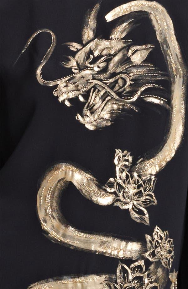 Alternate Image 3  - Emilio Pucci Painted Dragon Cady Dress