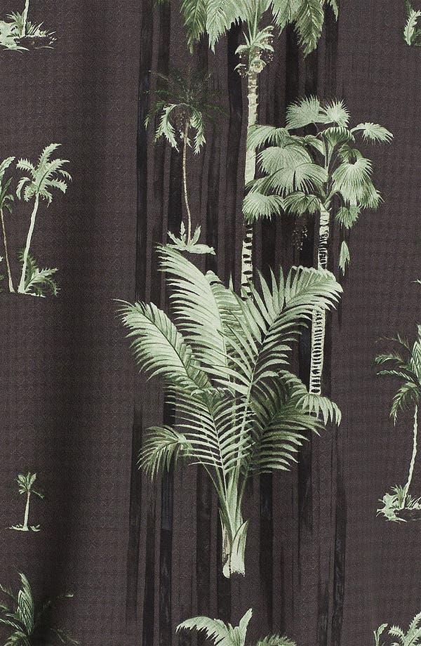 Alternate Image 3  - Tommy Bahama 'Peeping Palm' Silk Campshirt
