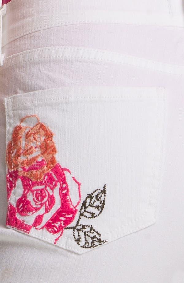 Alternate Image 3  - NYDJ 'Kendall' Cuffed Stretch Crop Jeans (Petite)