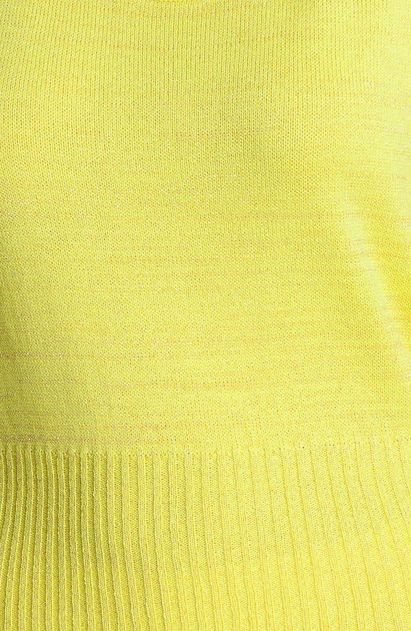 Alternate Image 3  - St. John Yellow Label Space Dye Stripe Tank