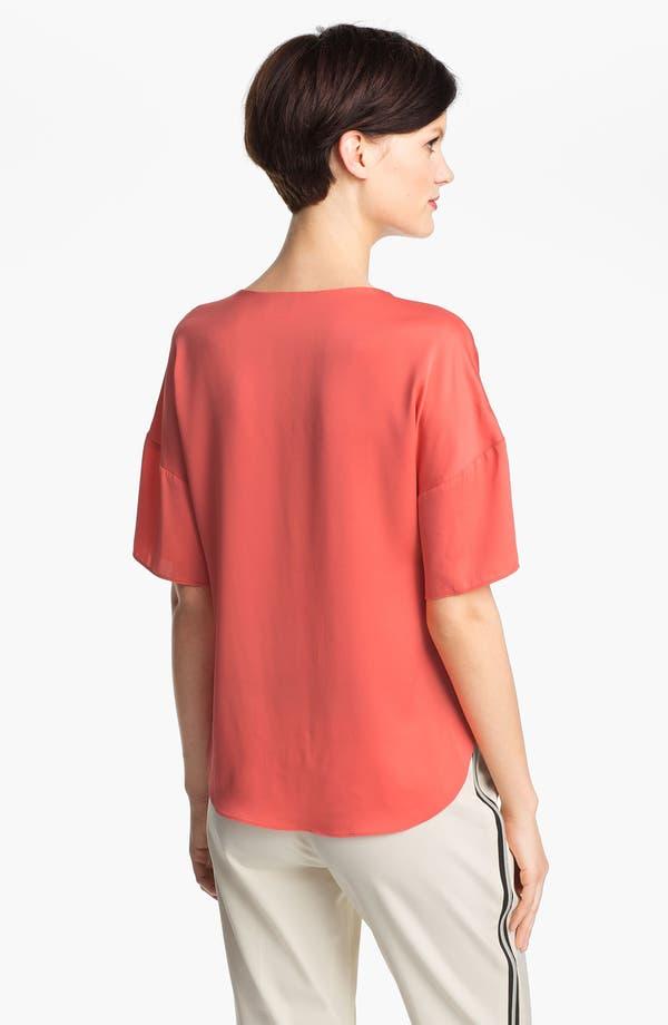 Alternate Image 2  - Milly Stretch Silk Top