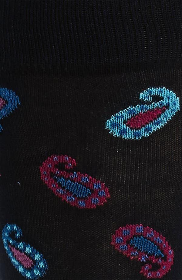 Alternate Image 2  - Bugatchi Uomo Paisley Socks