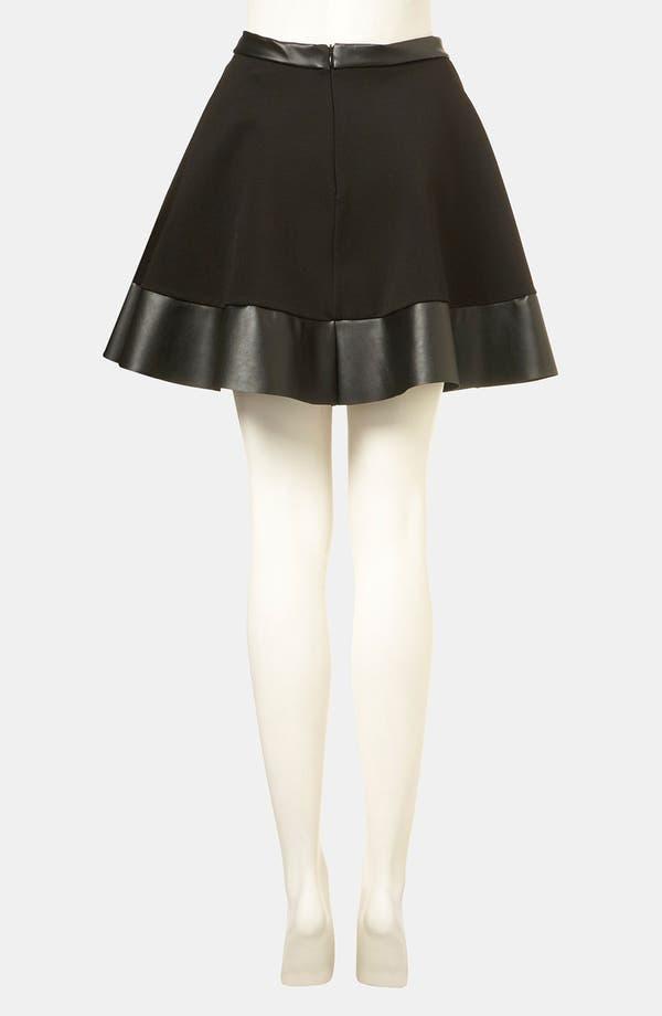 Alternate Image 2  - Topshop Skater Skirt