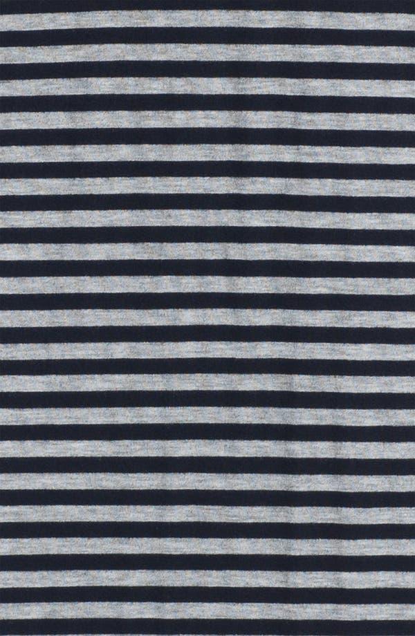 Alternate Image 3  - Bobeau Tuxedo Stripe Maxi Skirt