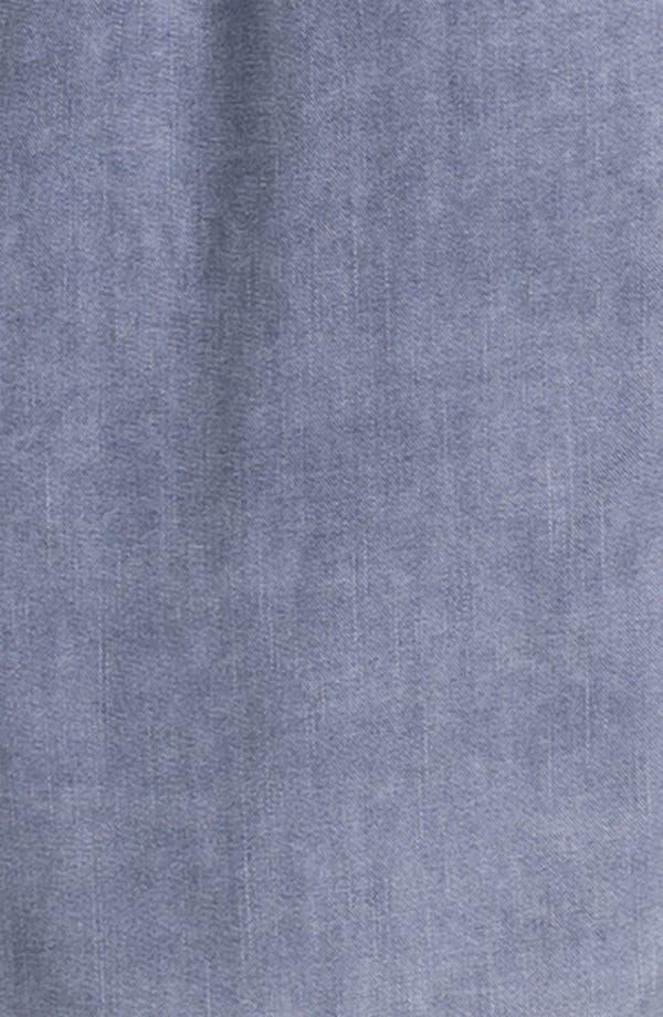 Alternate Image 3  - Caslon Roll Sleeve Shirtdress