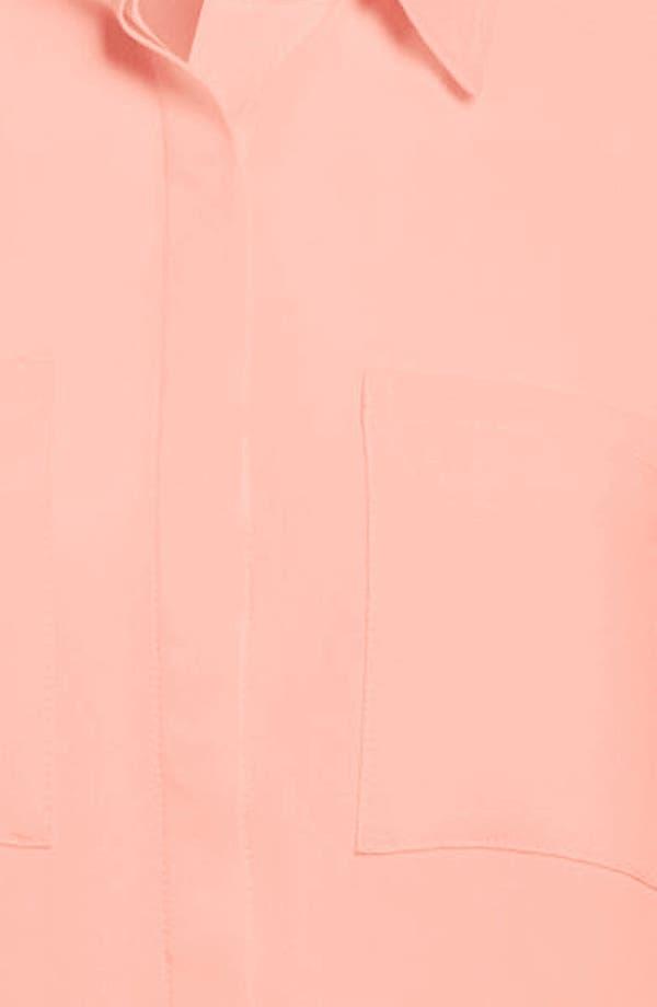 Alternate Image 3  - ASTR Pleated Skirt Drop Waist Dress