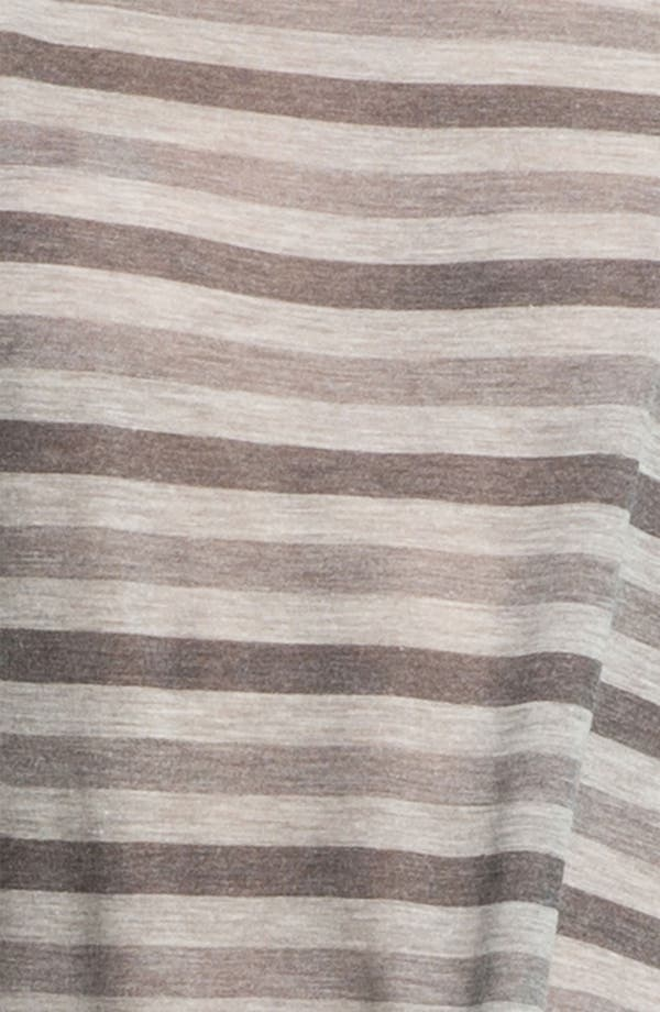 Alternate Image 2  - Eileen Fisher Scoop Neck Stripe Top