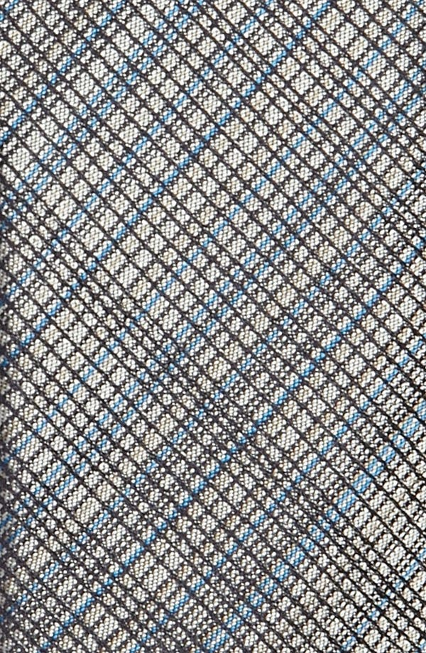 Alternate Image 2  - HUGO Skinny Woven Silk Tie