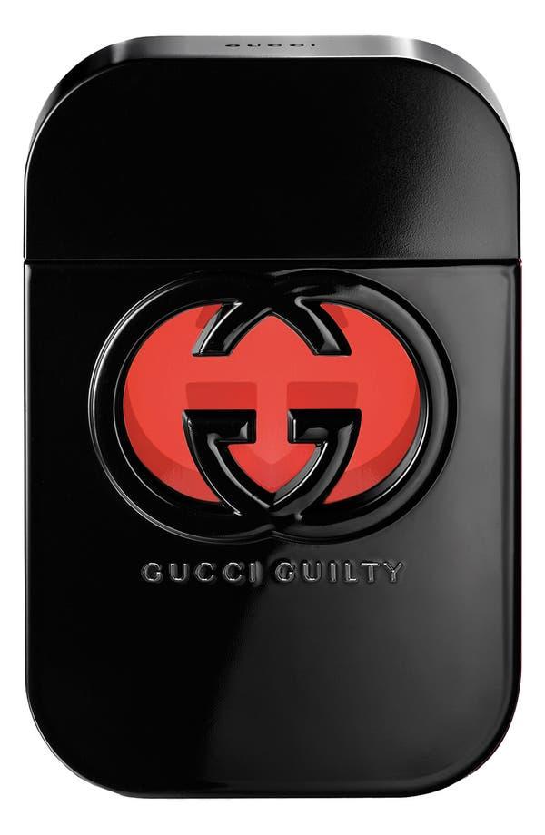 Alternate Image 1 Selected - Gucci 'Guilty Black for Her' Eau de Toilette