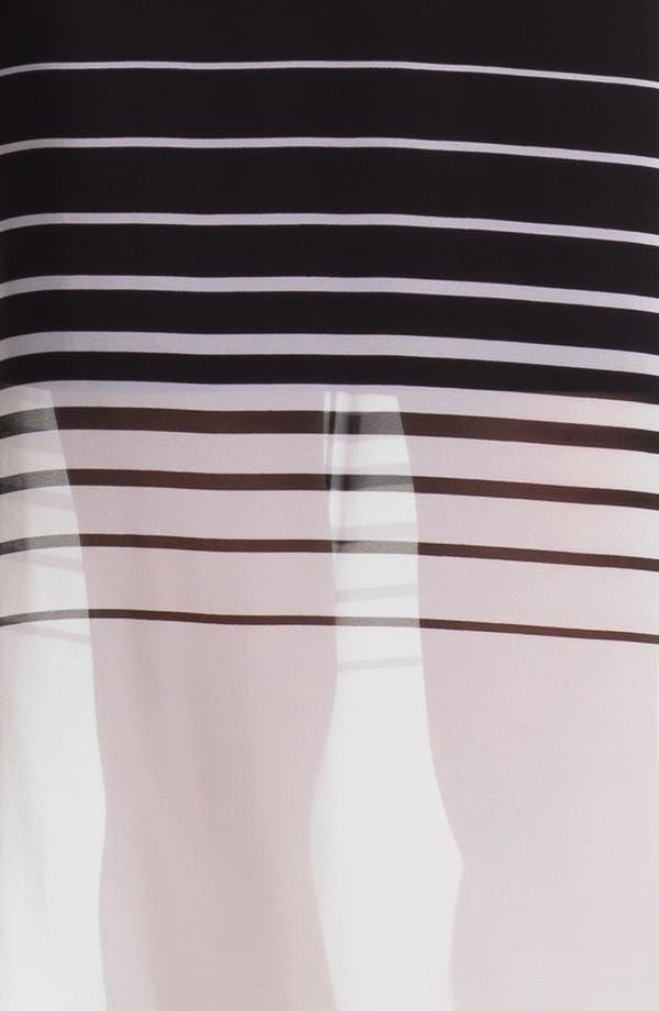 Alternate Image 3  - Vince Camuto Mixed Media Maxi Dress (Regular & Petite)