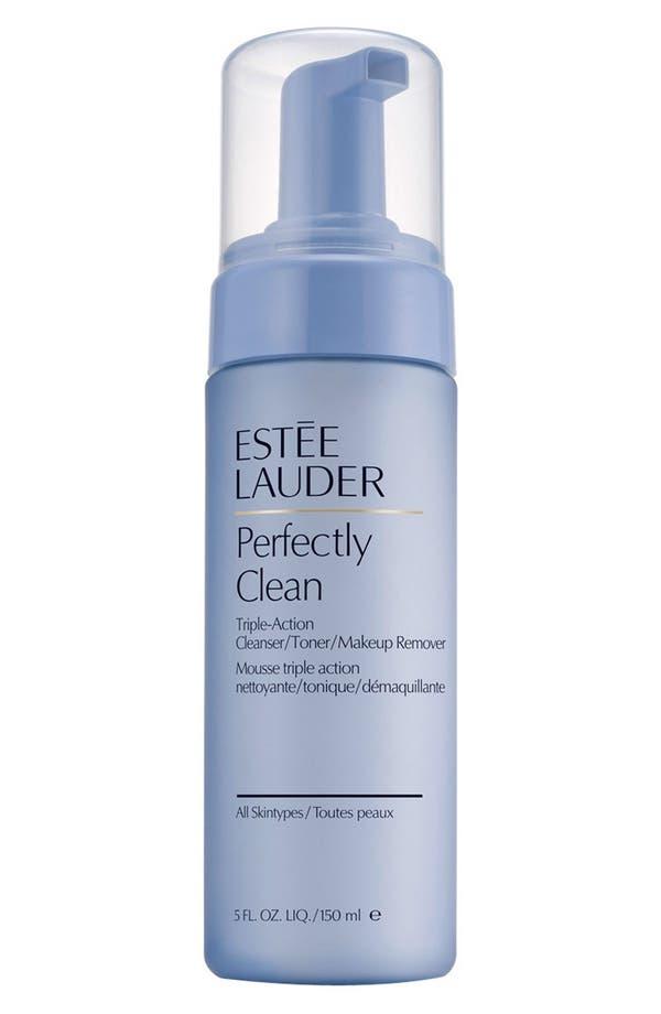 Alternate Image 1 Selected - Estée Lauder Perfectly Clean Triple-Action Cleanser/Toner/Makeup Remover