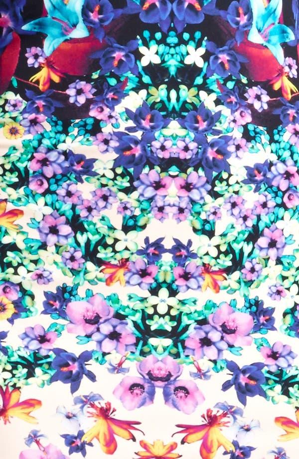 Alternate Image 3  - Roberto Cavalli Bloom Print Jersey Dress