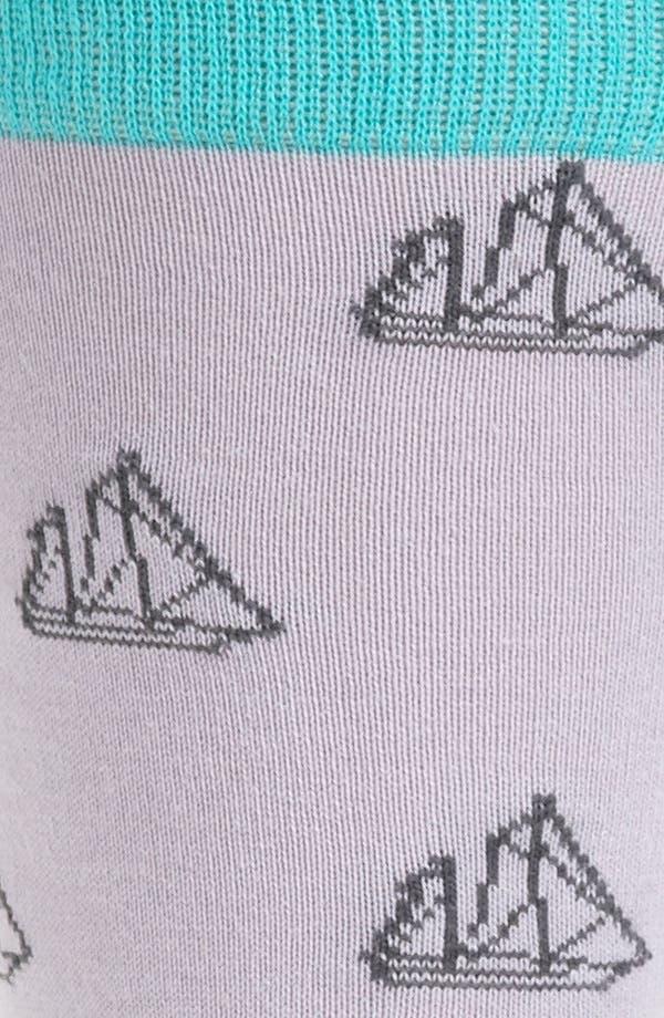 Alternate Image 2  - hook + ALBERT Sailboat Socks