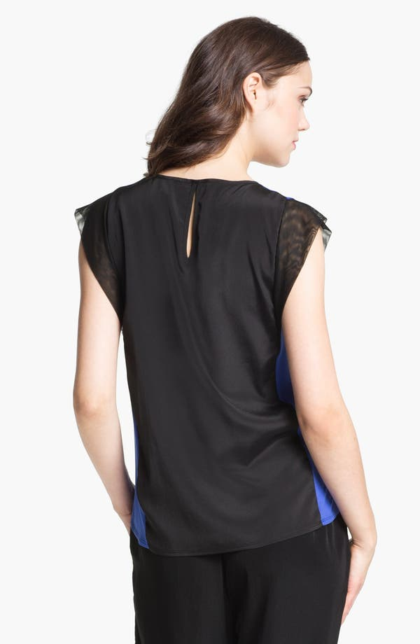 Alternate Image 2  - Kenneth Cole New York 'Marcela' Colorblock Blouse