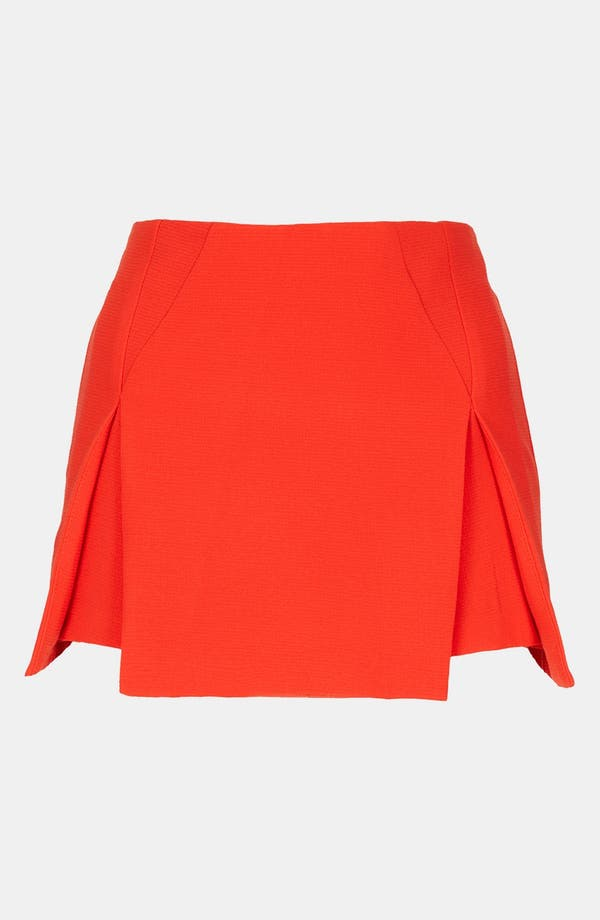 Alternate Image 1 Selected - Topshop Origami Pleat Miniskirt
