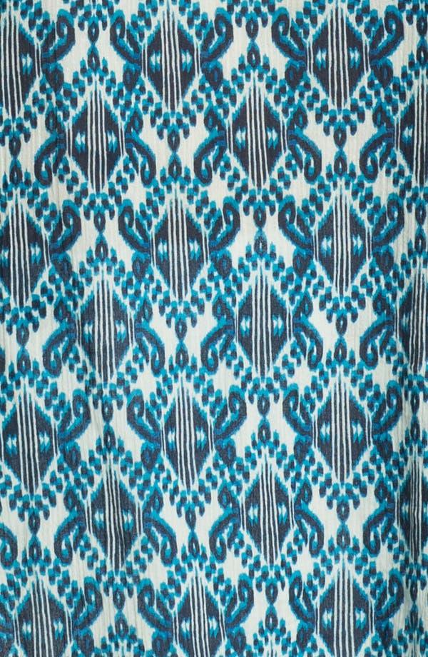 Alternate Image 3  - Lucky Brand 'Bali' Geo Print Blouse (Plus Size)