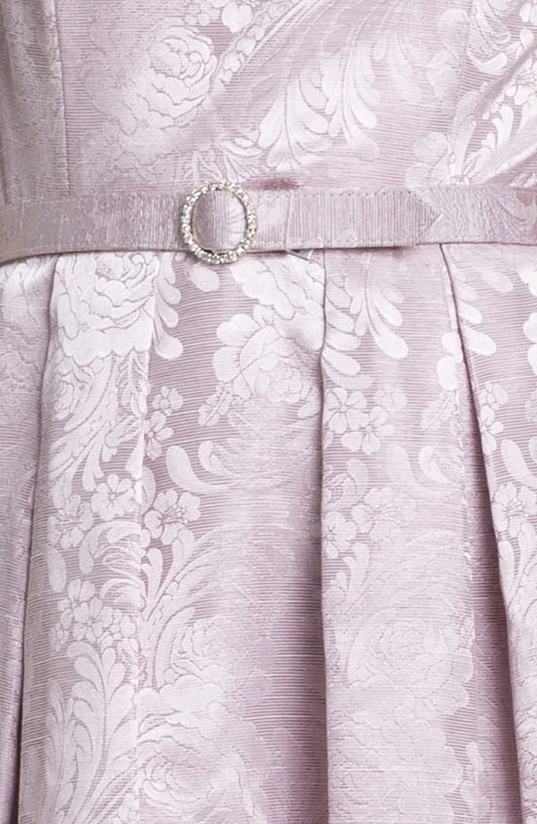 Alternate Image 3  - Eliza J Textured Print Fit & Flare Dress