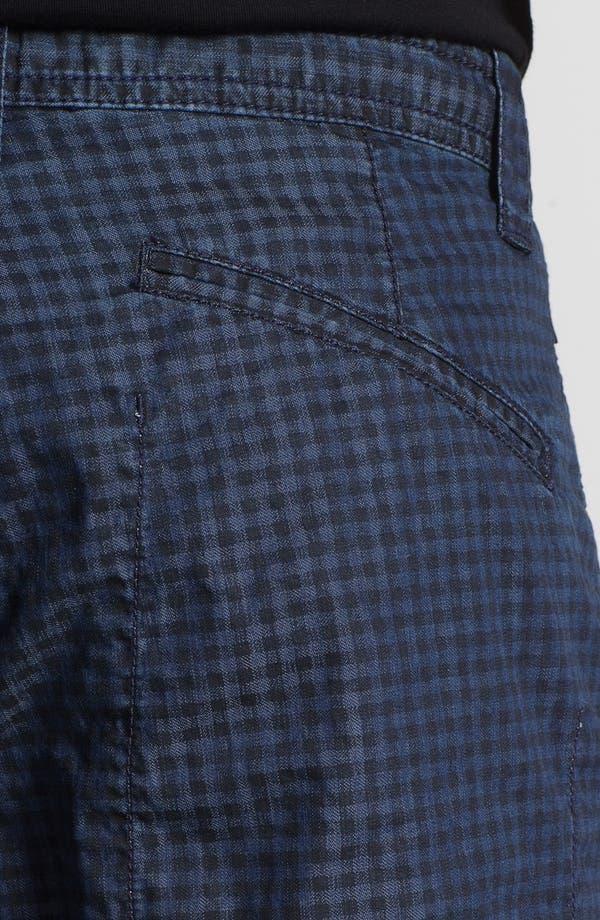 Alternate Image 3  - Armani Collezioni Check Bermuda Shorts