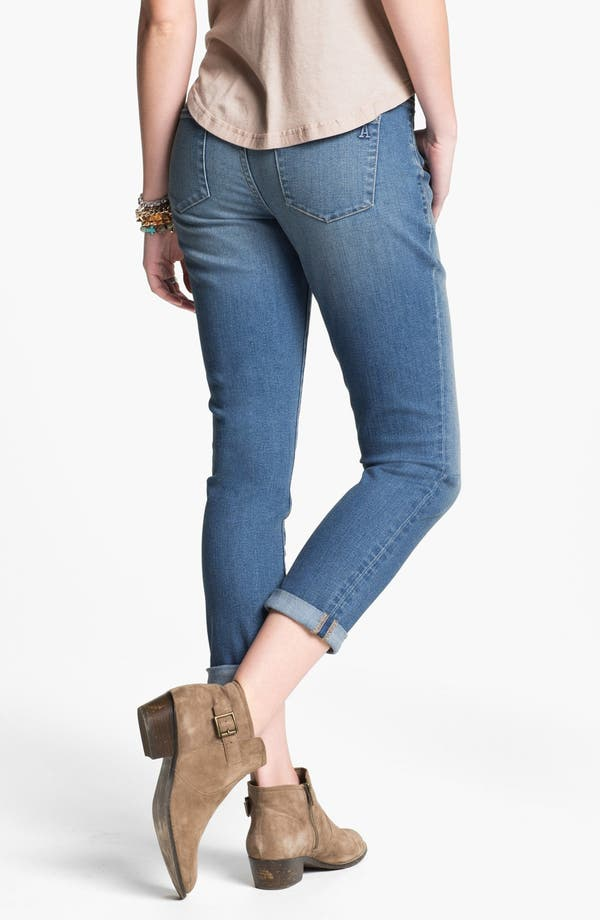 Alternate Image 2  - Articles of Society 'Cindy' Boyfriend Skinny Jeans (Juniors)