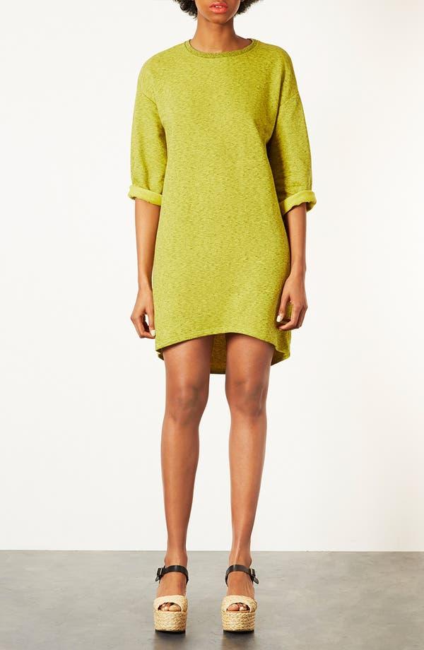 Alternate Image 1 Selected - Topshop Sweatshirt Dress