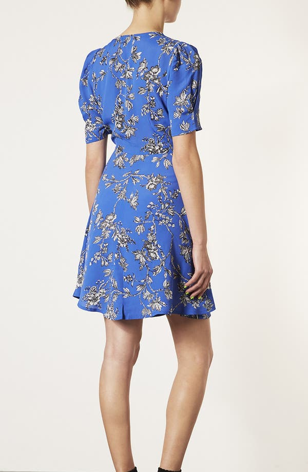 Alternate Image 2  - Topshop Floral Branch Tea Dress