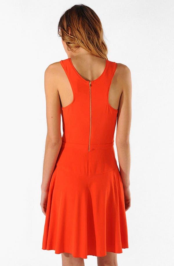 Alternate Image 2  - maje 'Alissa' Stretch A-Line Dress