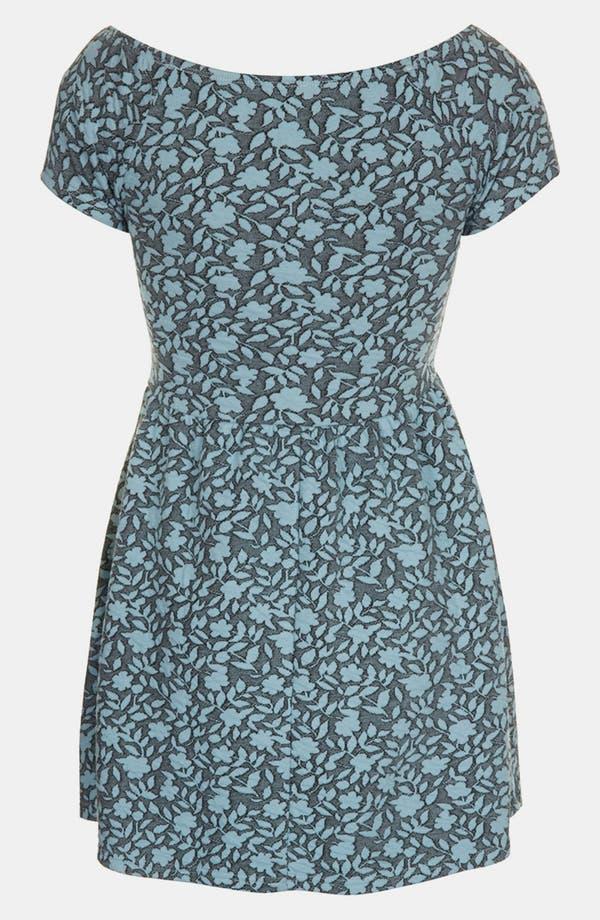 Alternate Image 2  - Topshop Floral Jacquard Dress (Petite)