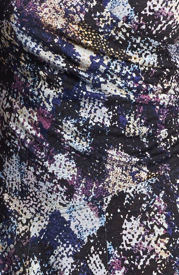 Alternate Image 3  - NIC+ZOE Cap Sleeve Faux Wrap Print Dress