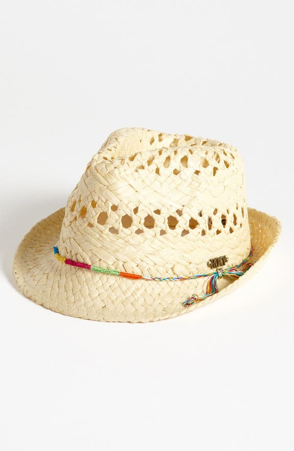 Alternate Image 1 Selected - Straw Fedora (Girls)