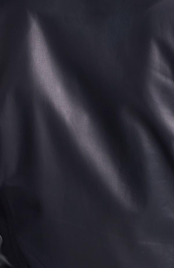 Alternate Image 3  - Rebecca Taylor Leather Blazer