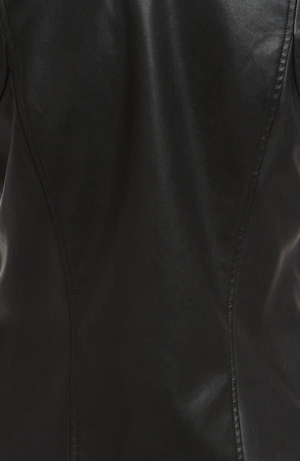 Alternate Image 4  - Mural Faux Leather Vest